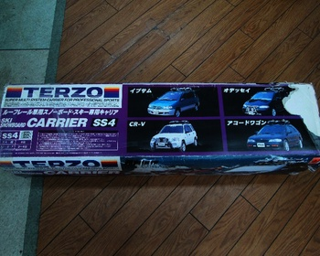 Terzo - Car ski carrier with roof rails (SS4)