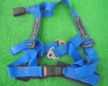 Willans - Used! 2-inch 4-point seat belt